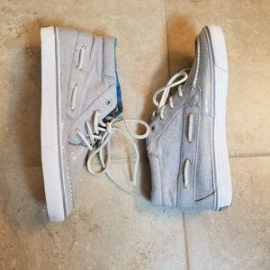 Sperry Sequin High Top Sneakers